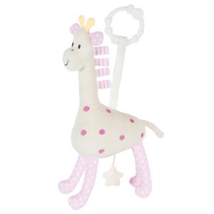 Muzikinis pakabinamas žaislas žirafa