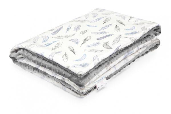 Dvipusė kūdikio antklodė