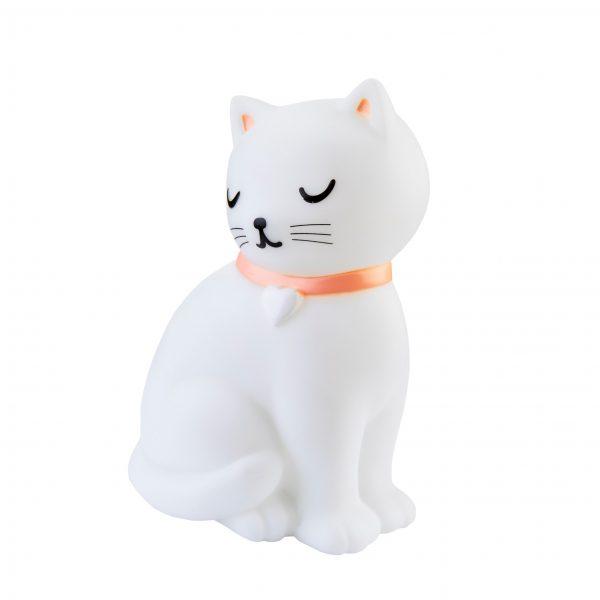 Naktinė lemputė katė