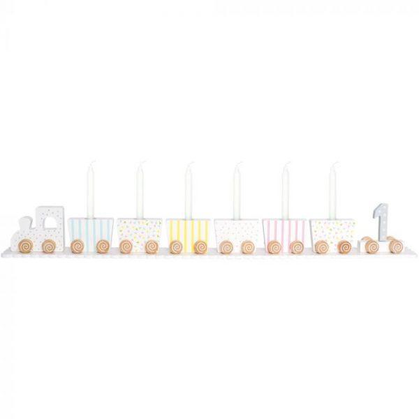 Traukinukas - žvakidė